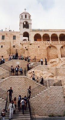The Saidnaya Monastery, Syria.