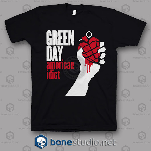 American Idiot Green Day Band T Shirt - Adult Unisex