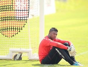Felipe no treino do Flamengo (Foto: Alexandre Cassiano / Ag. O Globo)
