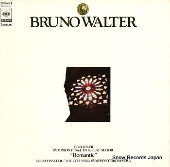 WALTER, BRUNO bruckner; symphony no.4 in e-flat major
