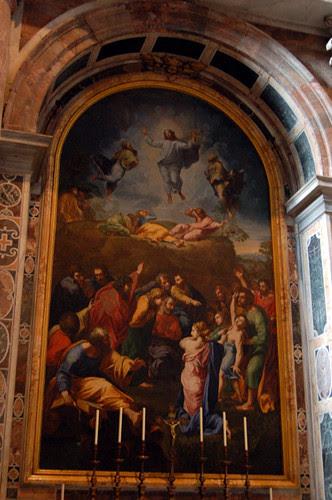 altar of the transfiguration