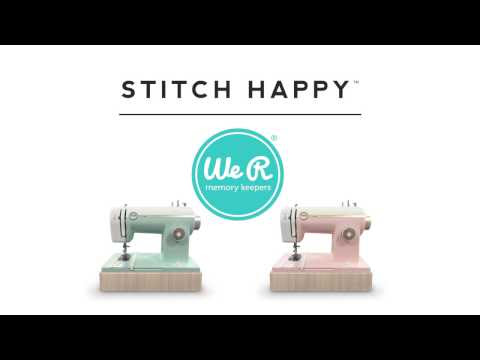 Stitch Happy Instructional Videos by We R Memory Keepers