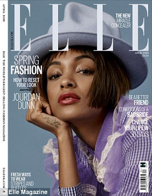Out now: Read the full interview with Jourdan Dunn - on sale 3 March
