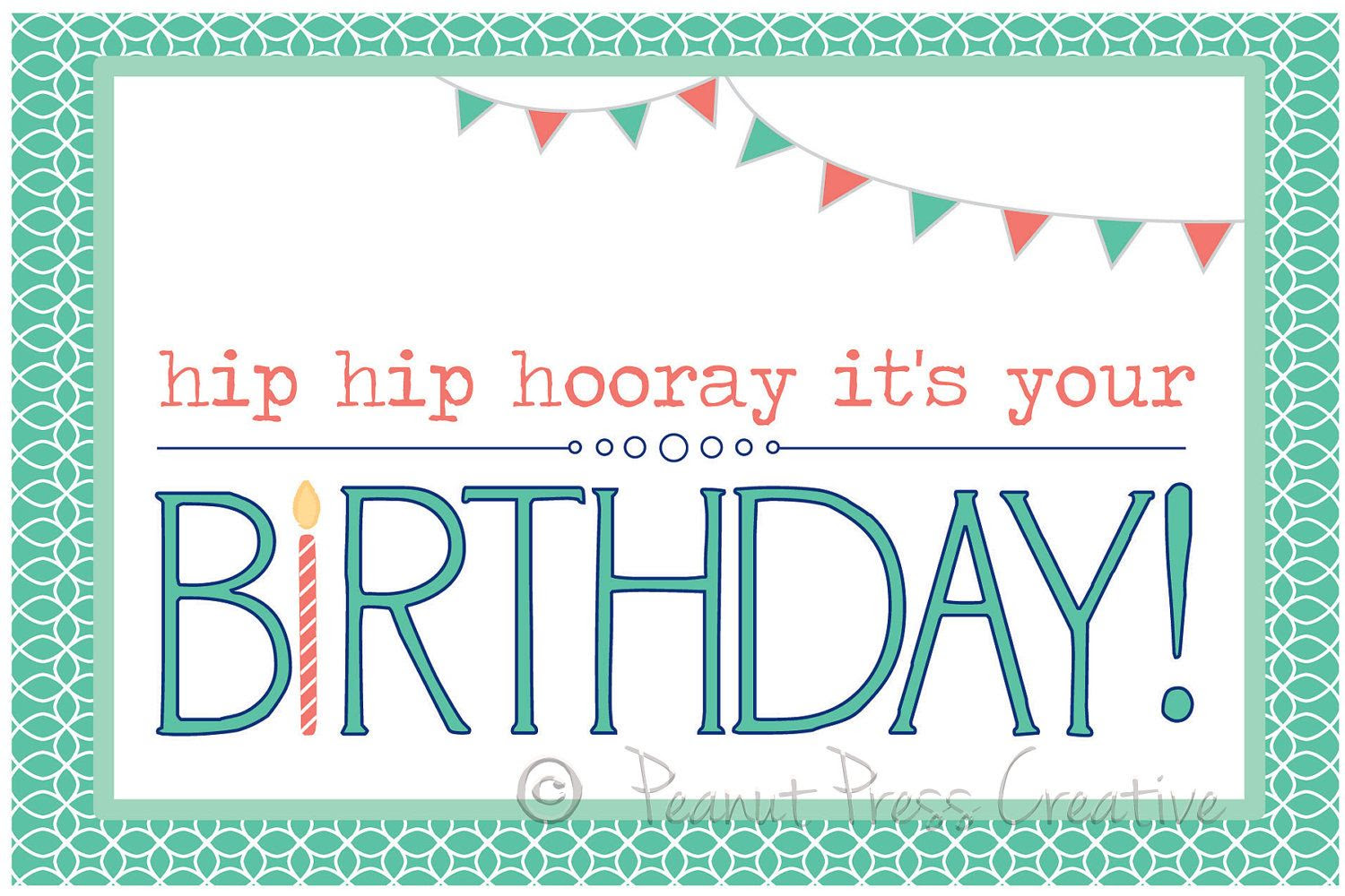 1000+ images about Happy Birthday Printables on Pinterest | Free ...