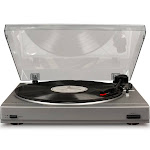 Crosley T200A Turntable - Silver