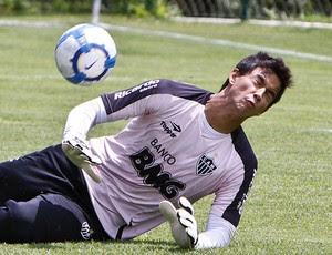 Renan Ribeiro no treino do Atlético-MG (Foto: Bruno Cantini / Site Oficial do Atlético-MG)
