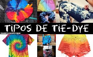 Guia DIY | Tipos de amarrações de tie-dye
