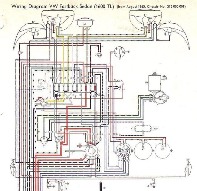 1972 Vw Wiring Diagram