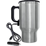 Brentwood CMB-16C Steel Electric thermal cup - 0.5 qt - Silver