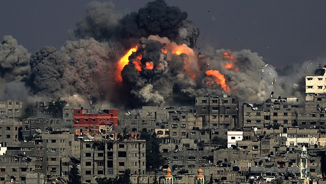 Israeli military accused of war crimes in Gaza during a war earlier this year against Hamas