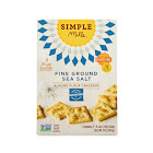 Simple Mills Almond Flour Crackers, 17oz. 2 x 8.5 oz. - Fine Ground Sea Salt