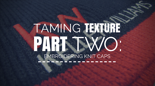 Taming Texture Pt. 2: Embroidering on Knit Hats / Beanies - ErichCampbell.com
