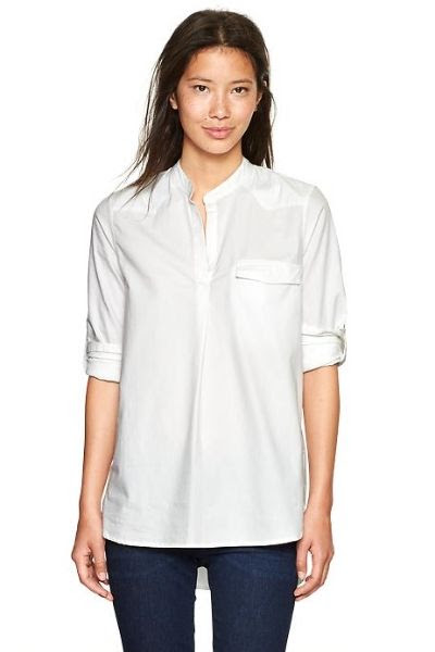 Gap Western Oxford Popover Shirt