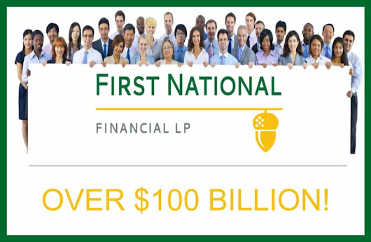 First National Financial Surpasses $100 Billion in Mortgages