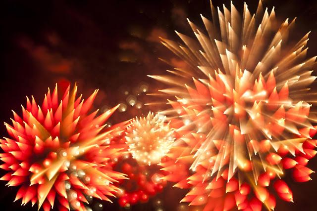 Unusual Long Exposure Firework Photographs by David Johnson long exposure light fireworks color