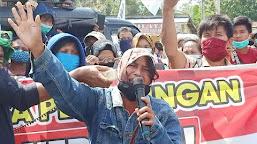 Jaringan Petani Bersatu Tuntut Pengurangan Izin Lahan PT  LAJ dan Cabut Izin PT  ABT
