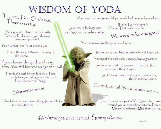 #edblogaday Day 15: Yikes I got behind!!! and a little Yoda