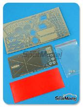 Fotograbado 1/24 Hobby Design - Ferrari 250 GTO - resinas + fotograbados para kit de Revell REV07077