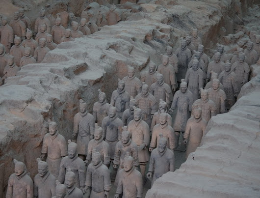 Terracotta Army, Shaanxi Province, China