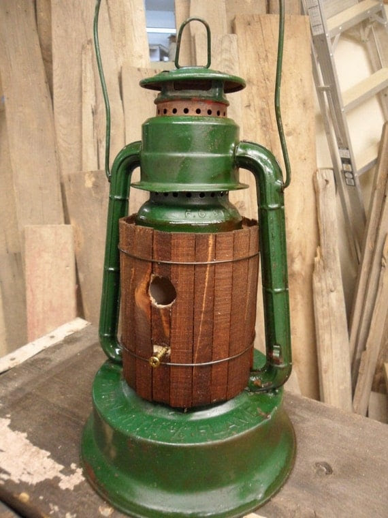 lantern birdhouse