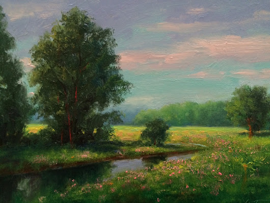 Saturday morning Landscape Art Work - Greg Cartmell