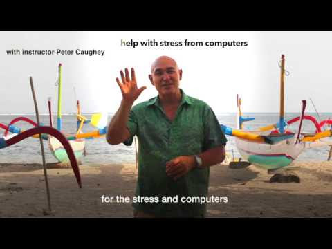 Reminder for the Special offer for my new Qigong course that helps with stress from computers