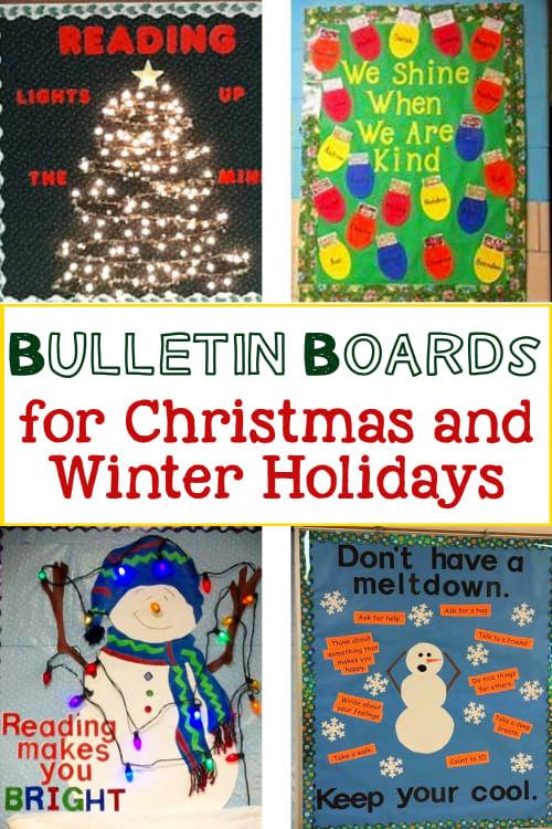 Smart Idea Bulletin Board Decoration Ideas For Winter