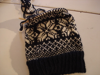stupid fair isle hat
