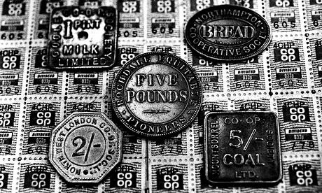 Co-op dividend stamps and tokens