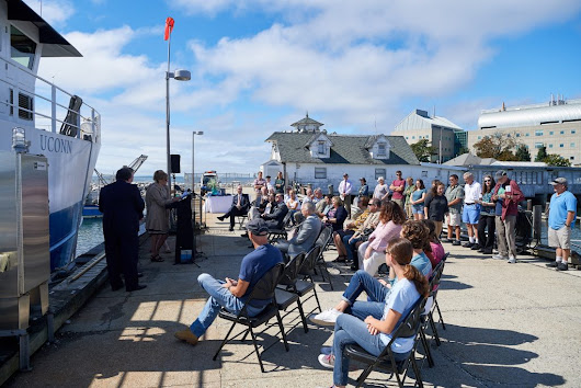 Research Vessel Recommissioned at UConn Avery Point - UConn Today