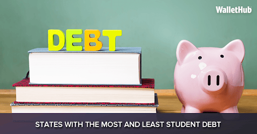 2017's States with the Most and Least Student Debt