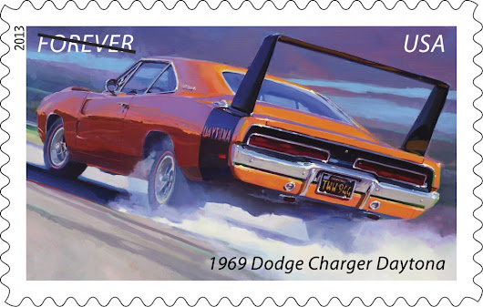 Muscle Car Stamps Dedicated by Richard Petty - Post Office Santa Clara, CA | Mailing Service Center 408-984-6245
