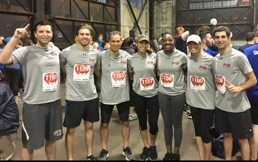 "Pierce & Mandell Lawyers and Staff Run ""Lawyers Have Heart 5K"" in Support of the American Heart Association - Boston, MA"