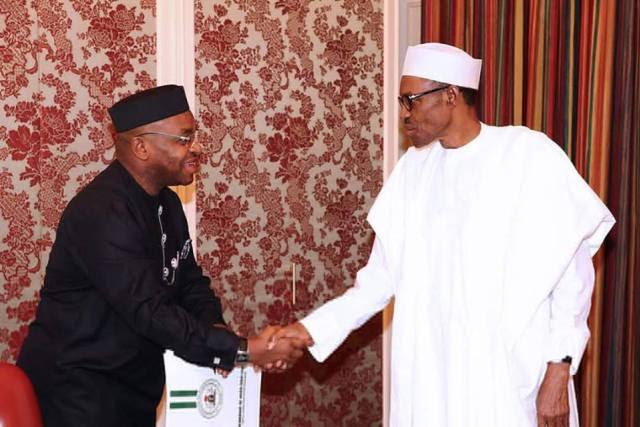 Buhari in Akwa Ibom