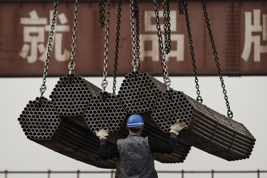 How China Skirts America's Antidumping Tariffs on Steel - WSJ