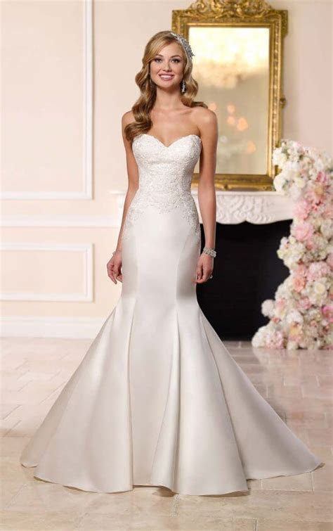 Dolce Fit and Flare Dress I Stella York Wedding Dresses