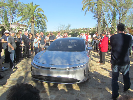 Second impression of the Lucid Air, and a Test Ride (and video.)