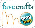 Blog Hop Button Finished on the 15th: FaveCrafts Blog Hop for June