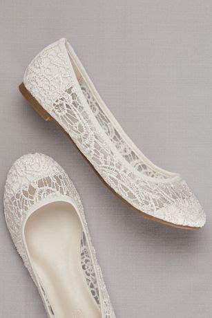 crochet ballet flats davids bridal