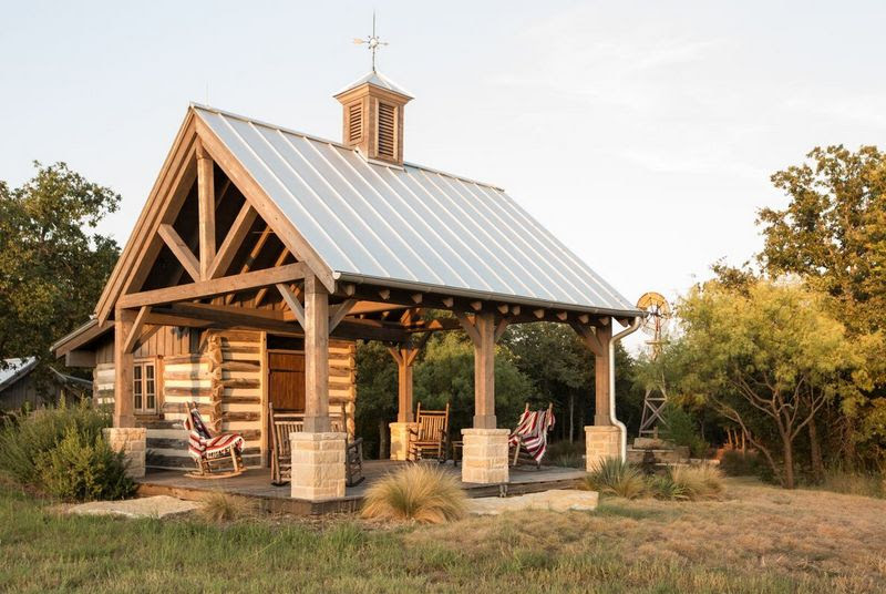 Custom Ranch Home Design Stephen B Chambers Architects Inc