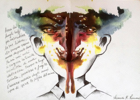 """Postcards From Psyche"": Rorschach-Inspired Projective Art Project To Explore Artist's Self"