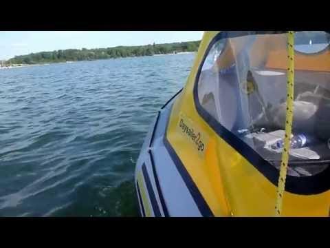 diy sail sailboat inflatable dinghi Schlauchboot Besegelung segeln