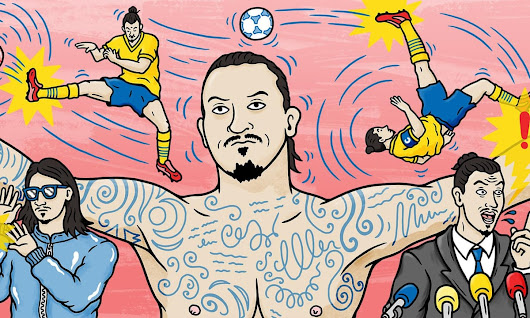 Zlatan Ibrahimovic would be here for a good time not a long time | Barney Ronay | Football | The Guardian