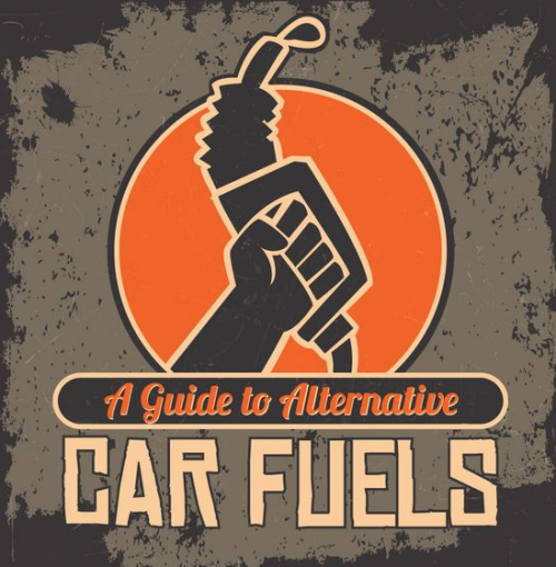 Guide to Alternative Car Fuels Infographic - AutoConverse.com