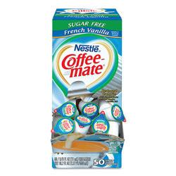 Nestle Coffee-Mate® Sugar Free French Vanilla Liquid Creamer Singles | NES91757 | ReStockIt.com