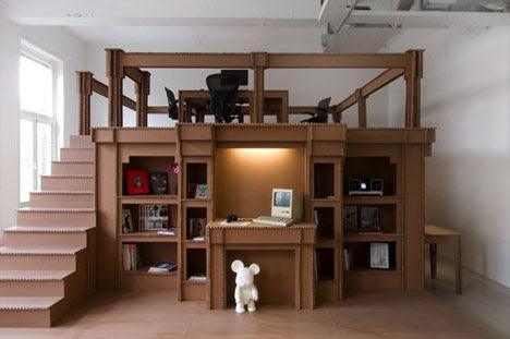 ... Cardboard: Creative Office Interior Design Design