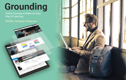 Grounding Education Category Bootstrap Responsive Web Template