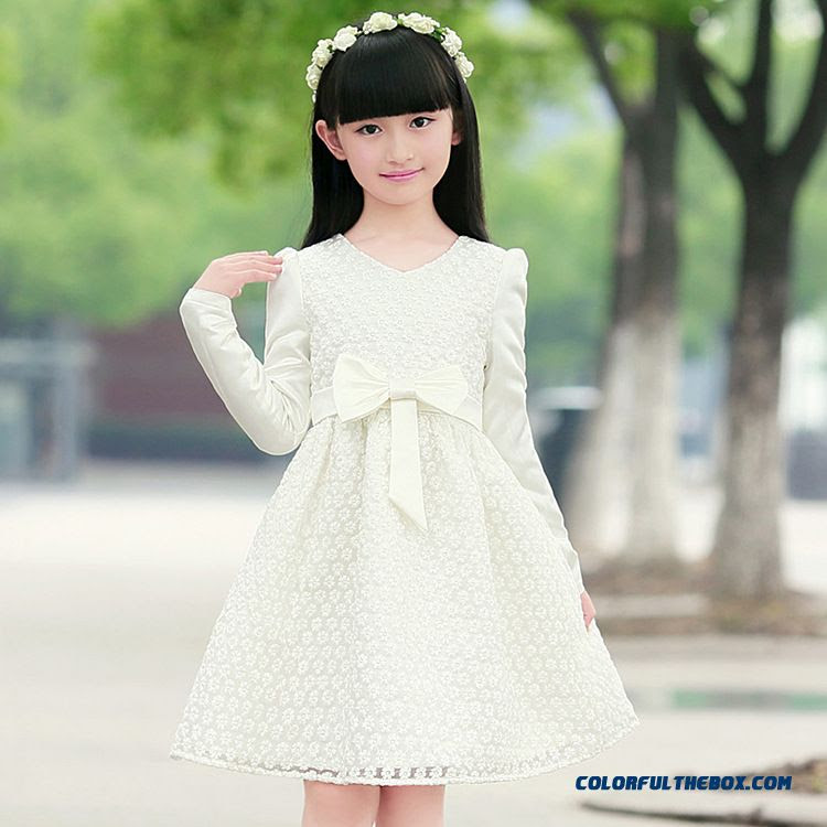 cheap solid color summer cute girls dress special offer