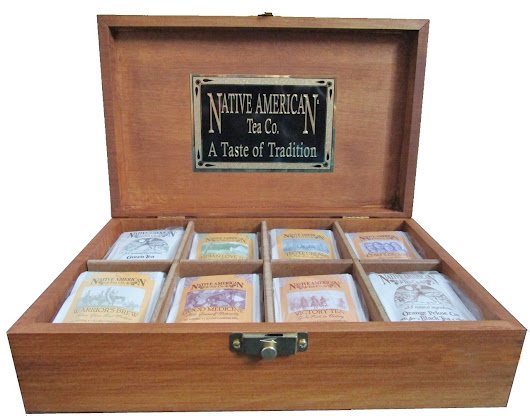 Native American Tea is celebrating 30 years! Win a Tea Chest!