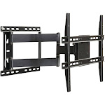 Atlantic Large Full Motion Articulating Mount for 37 inch to 84 inch Flat Screen TV Black